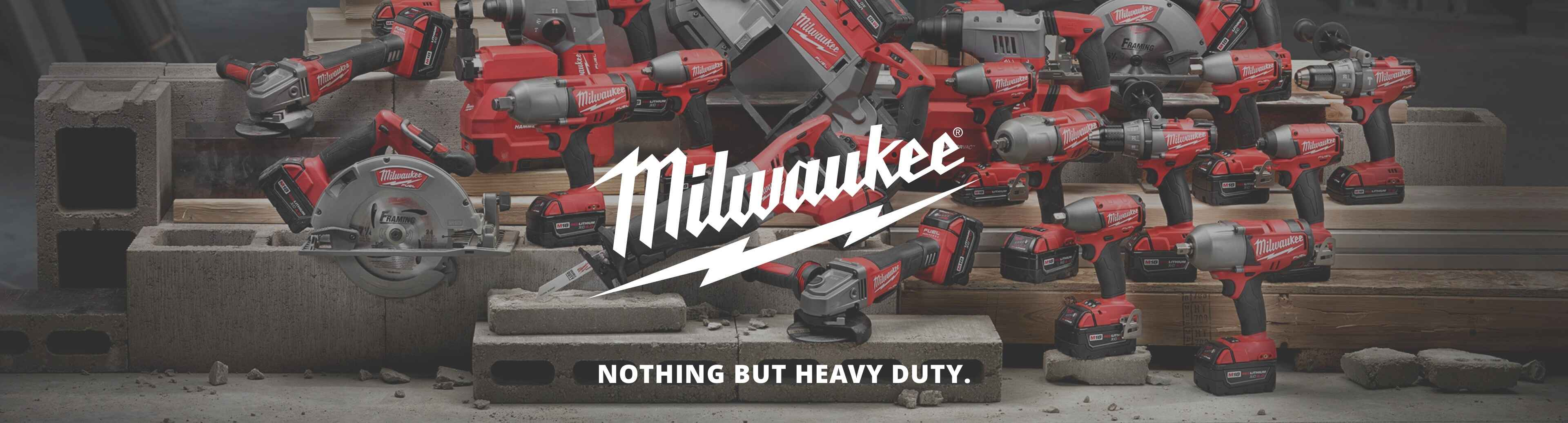 More about Milwaukee power tools at Juergens