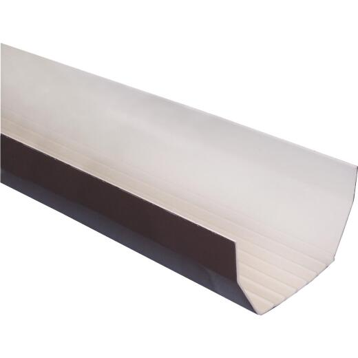 RainGo 5 In. x 10 Ft. Brown Vinyl Gutter