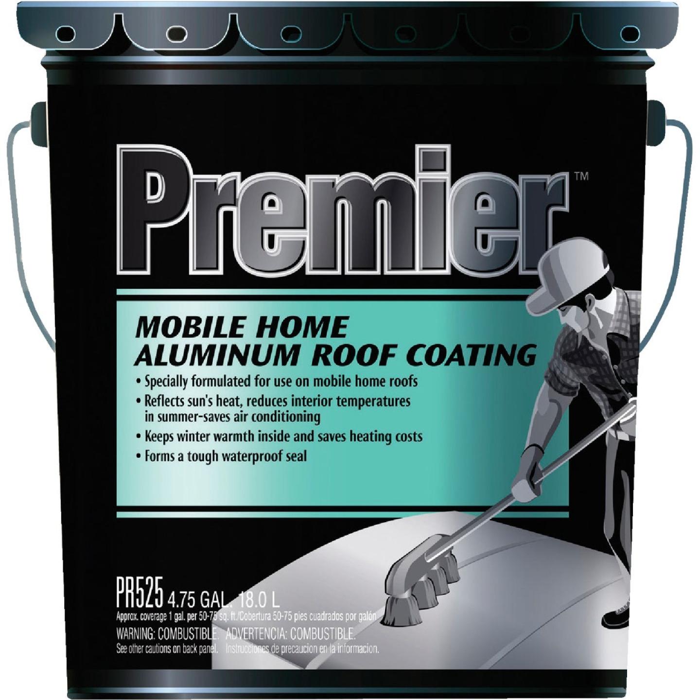 Premier 5 Gal. Mobile Home Aluminum Roof Coating Image 1