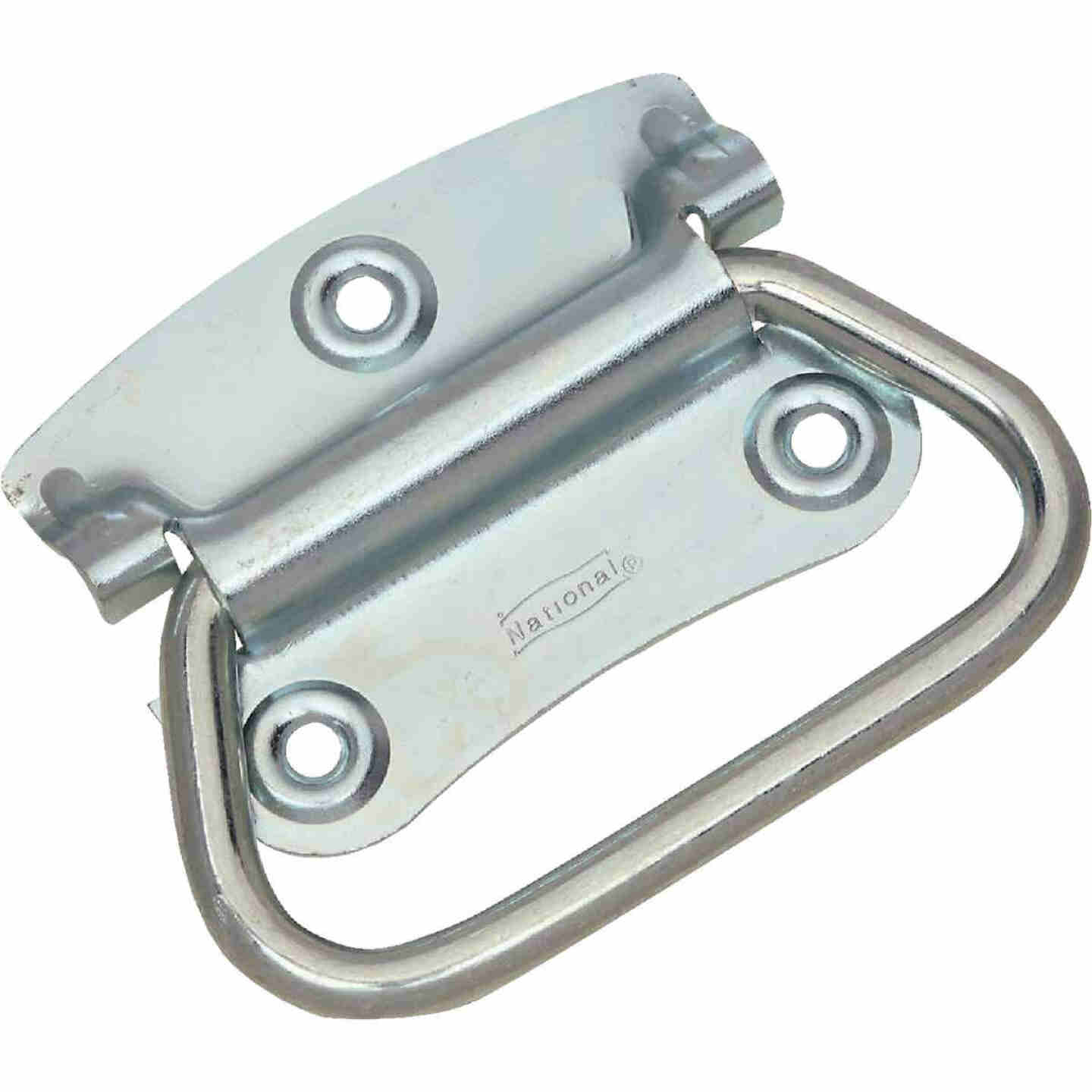"National Zinc 2 3/4"" Steel Chest Handle Image 1"