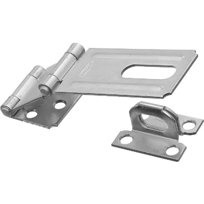 National 3-1/4 In. Double Hinge Zinc Hasp