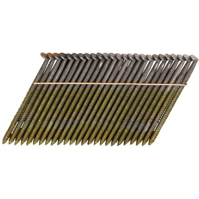 Bostitch 28 Degree Wire Weld Coated Offset Round Head Framing Stick Nail, 3-1/4 In. x .131 In. (2000 Ct.)