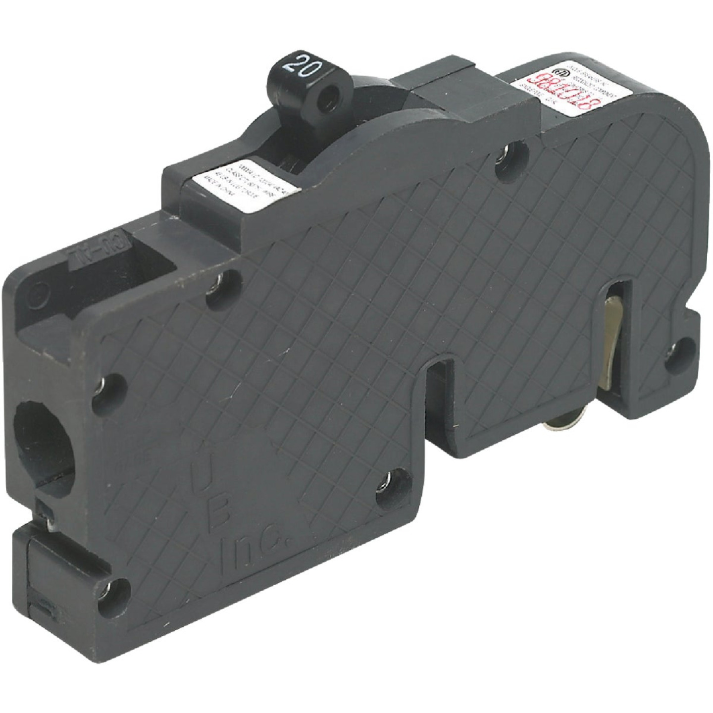 Connecticut Electric 20A Single-Pole Standard Trip Packaged Replacement Circuit Breaker For Zinsco Image 4