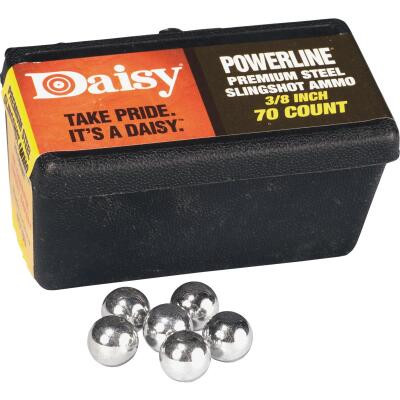 Daisy Steel 3/8 In. Slingshot Ball (70-Count)