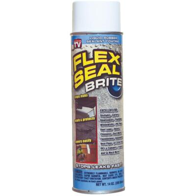 FLEX SEAL 14 Oz. Spray Rubber Sealant, Bright White