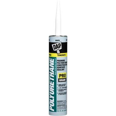 DAP 10.1 Oz. Premium Polyurethane Construction Adhesive Sealant, White