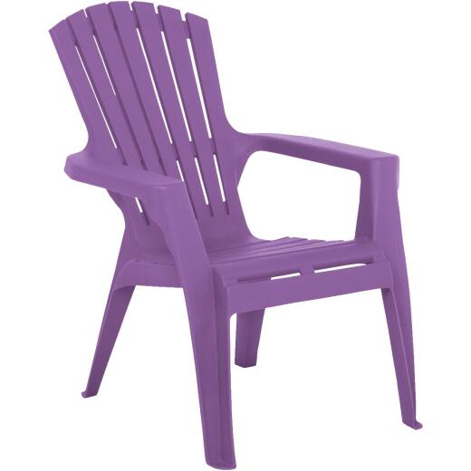 Adams Kids Violet Resin Adirondack Chair