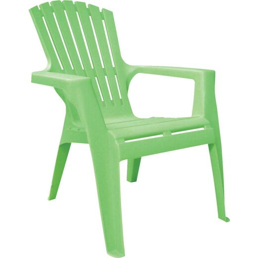 Adams Kids Summer Green Resin Adirondack Chair